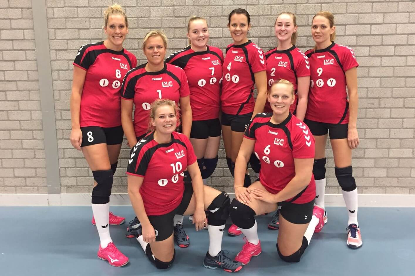 Teamfoto Dames 1 2018-2019